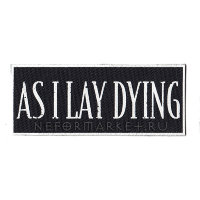 Нашивка As I Lay Dying. НШД006