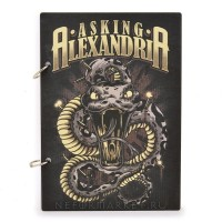 Скетчбук А5 Asking Alexandria. SKB21