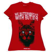 Футболка женская We Butter The Bread With Butter ФГ377ж