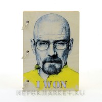 Скетчбук А5 Breaking Bad. SKB02