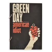 Скетчбук А5 Green Day. SKB25