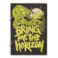 Скетчбук А5 Bring Me The Horizon. SKB27