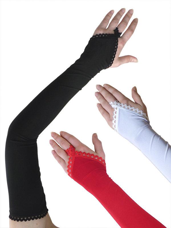 Длинные перчатки своими руками 641