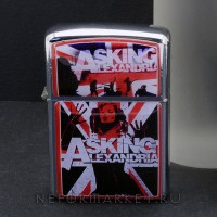 Зажигалка Asking Alexandria ZIP91