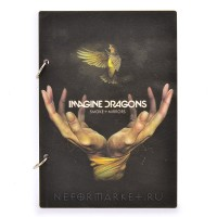 Скетчбук А5 Imagine Dragons. SKB34