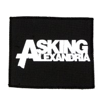 Нашивка Asking Alexandria. НШ312