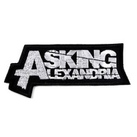 Нашивка Asking Alexandria. НШВ237