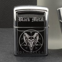 Зажигалка Black Metal ZIP66