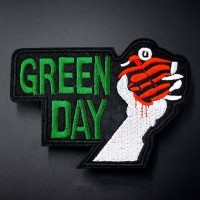 Термонашивка Green Day TNV100