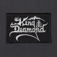 Нашивка King Diamond. НШВ142