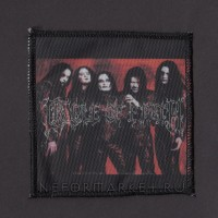 Нашивка Cradle Of Filth. НШР016