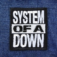 Нашивка System Of A Down. НШВ293
