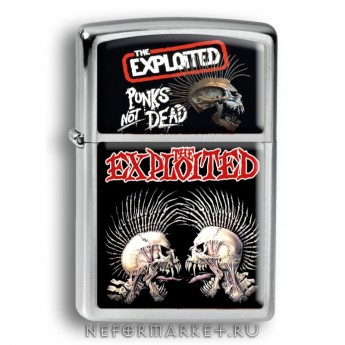 Зажигалка The Exploited ZIP164