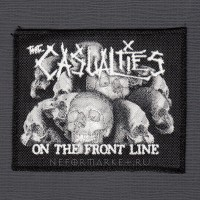 Нашивка The Casualties. НШ285