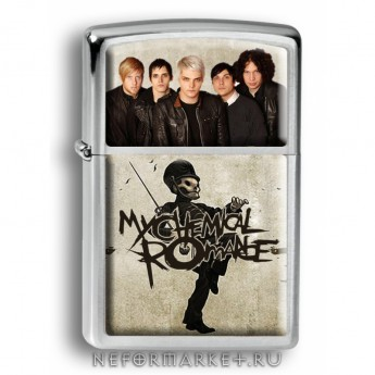 Зажигалка My Chemical Romance ZIP168