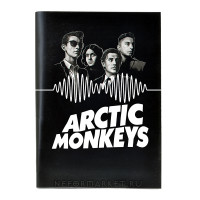 Тетрадь Arctic Monkeys (30 листов, клетка) nb004