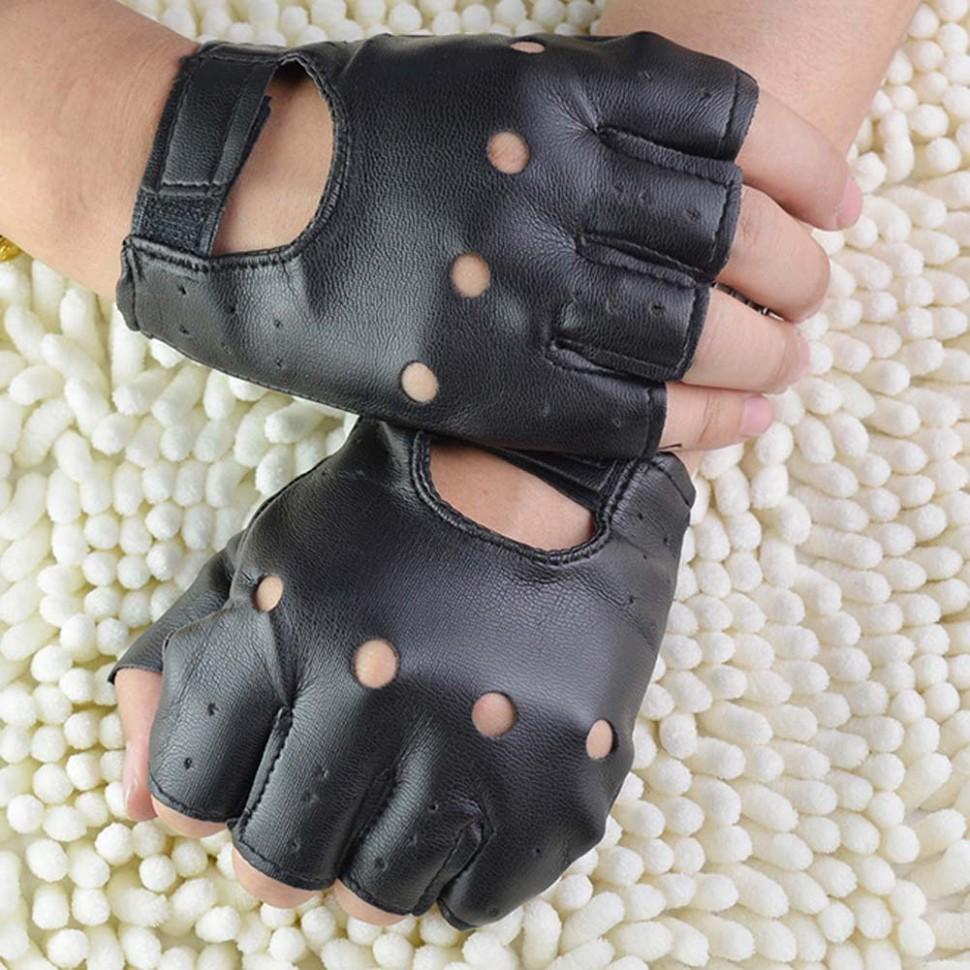 Как сделать перчатки без пальцев своими руками мужские 90