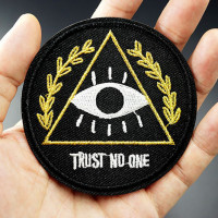 "Термонашивка ""Trust No One"" TNV182"