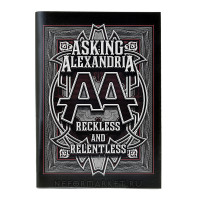 Тетрадь Asking Alexandria (30 листов, клетка) nb006
