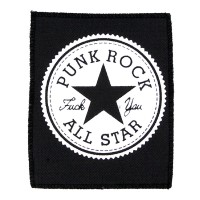 Нашивка Punk Rock All Star. НШ276