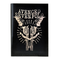 Тетрадь Avenged Sevenfold (30 листов, клетка) nb009