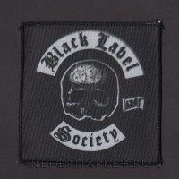 Нашивка Black Label Society. НШР033