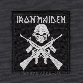 Купить Нашивка Iron Maiden. НШВ157 в магазине рок атрибутики Neformarket