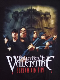Футболка Bullet for my Valentine. FTH-48
