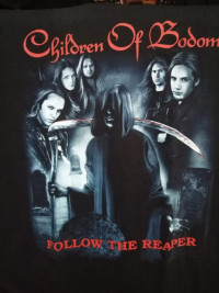 Футболка Children of Bodom. FTH-49