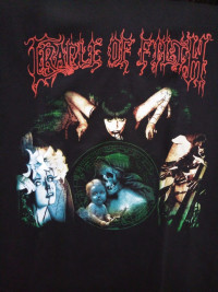 Футболка Cradle of Filth. FTH-51