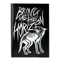 Тетрадь Bring Me The Horizon (30 листов, клетка) nb020
