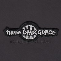 Нашивка Three Days Grace. НШВ012