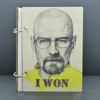 Скетчбук А6 Breaking Bad. SKB02s