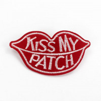 Термонашивка Kiss My Patch TNV269