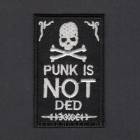 Термонашивка Punk Is Not Ded TNV055