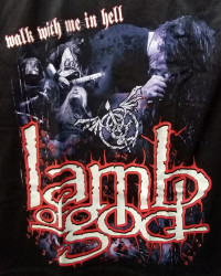 Футболка Lamb Of God. FTH-212