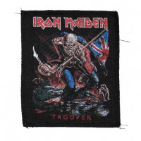 Нашивка Iron Maiden (Trooper). НШ354