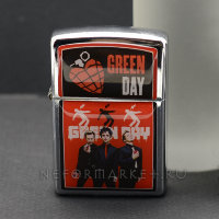 Зажигалка Green Day ZIP12