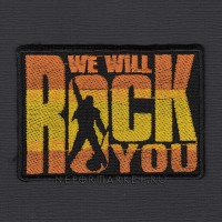 Нашивка We Will Rock You. НШВ192